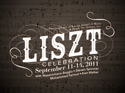 Liszt Festival piano classical music type