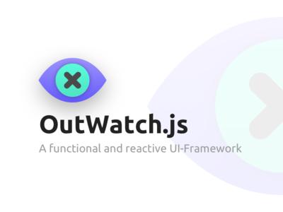 outwatchJS framework logo