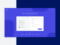 Signup Page Design