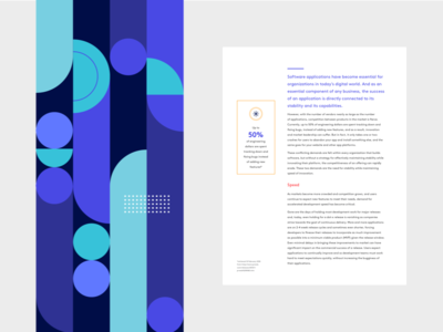 Pattern organic typography pattern circular shapes illustration geometric brand template bugsnag design abstract