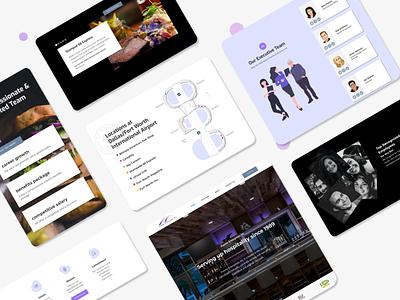 Puente Website Redesign web design landing page landing page design redesign design website webdesign branding business website