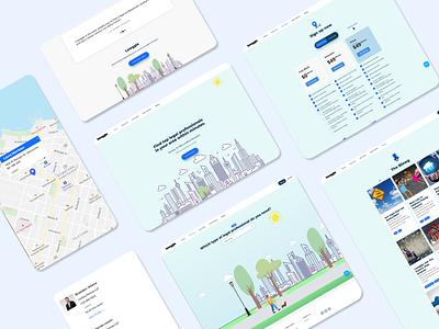 Lawggle Website animation 2d webdesign ux ui landing page redesign website branding design business website