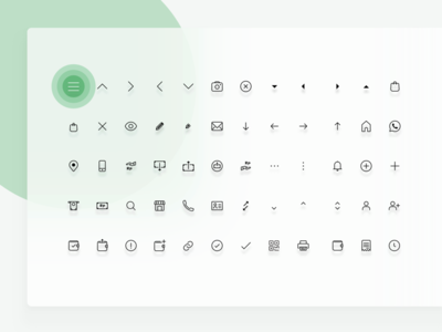 1px stroke icons
