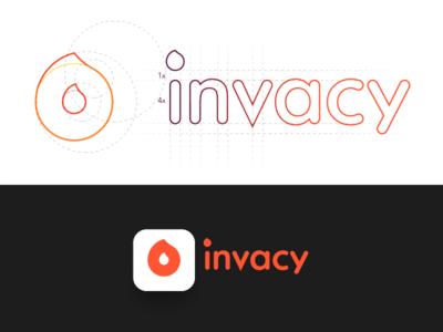 Invacy - Logo design