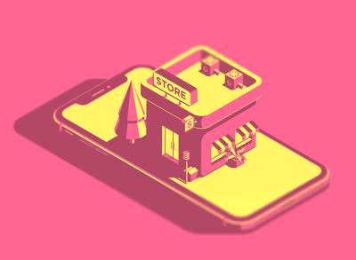 Mobile store v.2