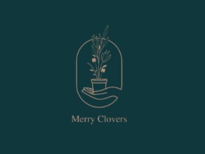 Marry CLOVERS logo graphicdesign design