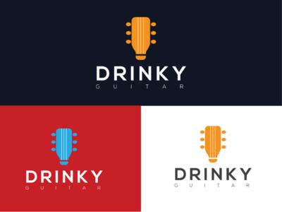 Drinky logo drink logo