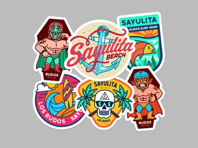 Sayulita Stickers
