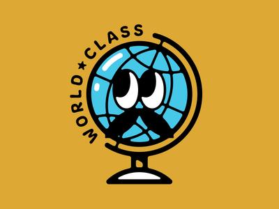 World Class worldwide illustration vector earth planet class world