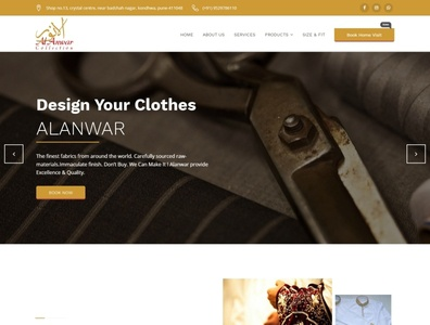 Alanwar Collection Website webdesign seo php html5 css3 codeigniter bootstrap ajax