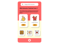 Mid Autumn Festival 1 chinese culture chinese mid autumn festival mid autumn autumn ui icon set icons icon design icon