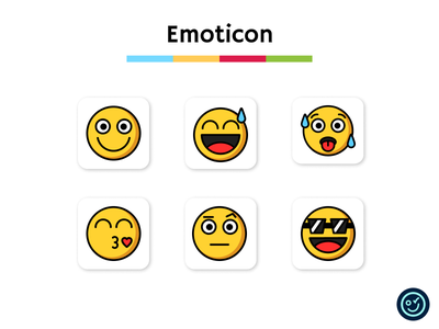 Emoticon icon pack smile emoji emoticon illustration design iconography ui icon set icons icon design icon