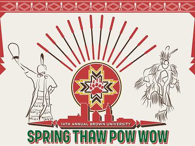 14th Annual Spring Thaw Powwow native american powwow jingle dancer grass dancer providence ri rhode island brown university tribal