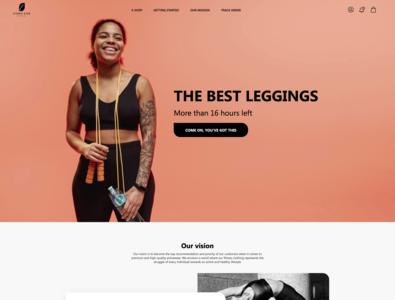Iconic Size fashion homepage theshopifyninja shopify ecommerce shop ecommerce