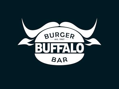 logotype buffalo burger-bar logo design identity branding logotype