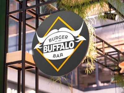 buffalo logo outdoor present identity logotype logo branding digital design