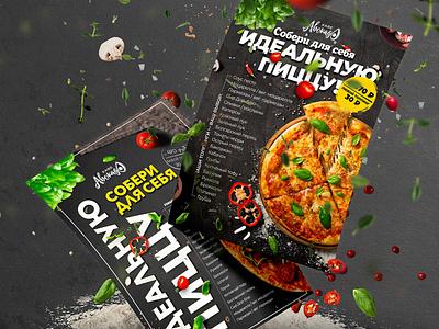 flayer pizza print design flyer flyer design visual design