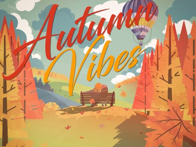 Illustration autumn vibes autumn inspiration autumn autumn vibes design illustration
