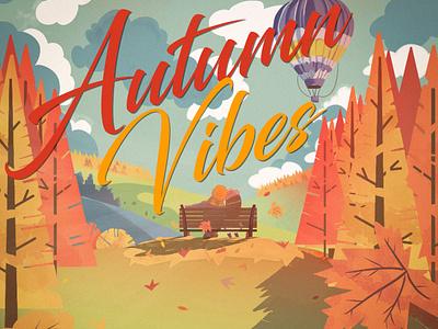 Illustration autumn vibes autumn inspiration autumn autumn vibes design illustration