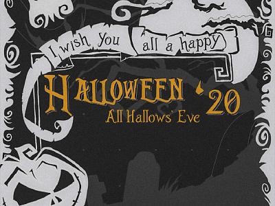 halloween 31.10.2020 notscary october31 halloween visual design digital illustration