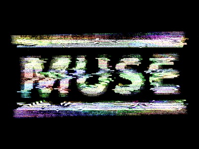 Muse • Static band merch muse tv static vhs