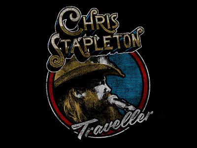 Chris Stapleton vintage country band merch
