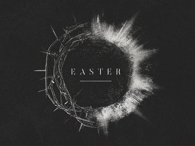 Easter • 2016 light burst tomb thorns easter