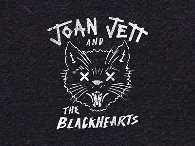Joan Jett - Cat Shirt cat merch band