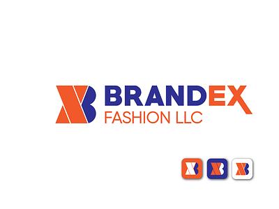 Brandex ux ui icon minimal branding logo design logo brand design brand identity brandex logo folio
