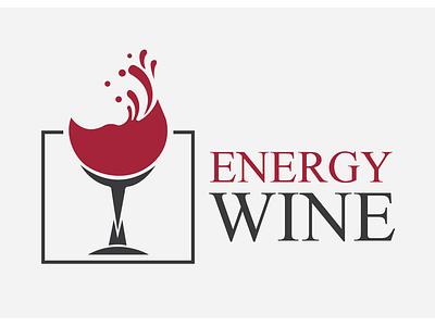 Energy Wine ui minimal logo icon branding brand identity brand design logo design logo folio