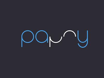 Pappy minimal icon logo design logo branding brand identity brand design logo folio
