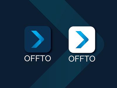 Offto-App Icon ui minimal icon logo design logo app design branding brand design brand identity logo folio