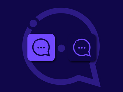 Native Talk - App Icon brand design brand identity app app logo app icon minimal icon logo logo design app design logo folio