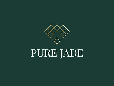 Pure Jade luxuary logo jewelry logo jewelry logo branding brand design brand identity logo folio