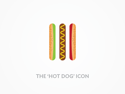The hot dog icon