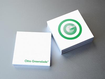 Otto greenslade business card