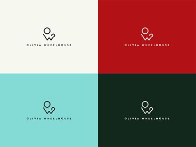 Olivia Wheelhouse Branding Colours logo identity branding typography logotype lettering mark wordmark graphics graphic design olivia wheelhouse