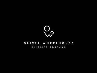 Olivia Wheelhouse Branding Final logo identity branding typography logotype lettering mark wordmark graphics graphic design olivia wheelhouse