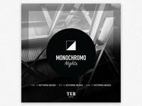 Monochromo Nights Flyer
