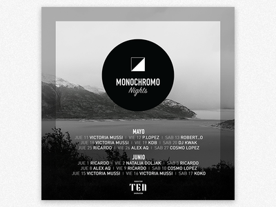 Monochromo Poster