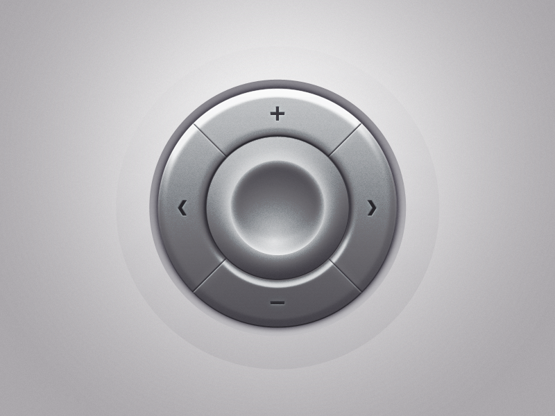 Regulator iphone controller gradient radial home soft navigation app texture interface ui knob dial