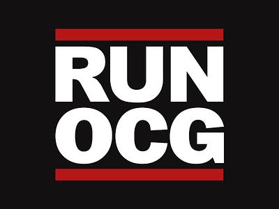 OCG Run Dmc graphic design graphics branding hijack logo run dmc