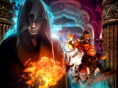 Book cover for Jim Butcher's Academ's Fury butcher academ fury fantasy photoshop book cover