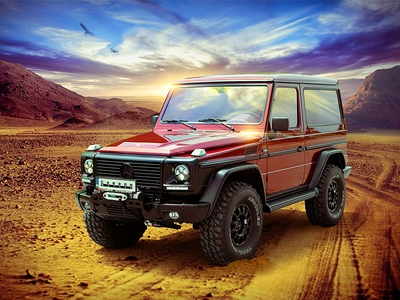 Visual for custom made Mercedes G500 visual photoshop custom made personalization tuning motors g500 mercedes carbon