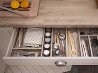 Ikea kitchen: close-up