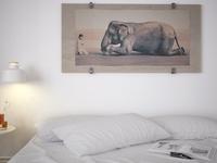 Easy bedroom....