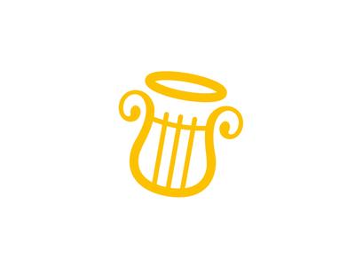 Spiritual songs logo concept👼