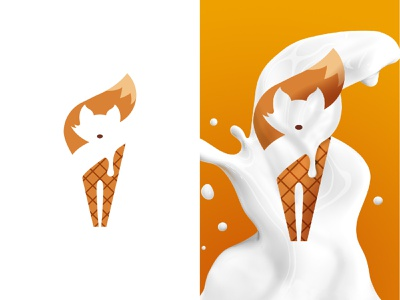 D to 3D work   for Soffox Ice-cream fox icecream soffox icecream soffox foxlogo fox iceland icecream logodesigner illustration brand logotype logodesignersclub logodesigners logodesigner logodesign dto3d 3d animation 3d artist 3d art 3d logo design