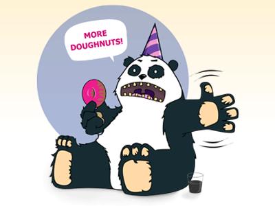 Gary the Party Panda