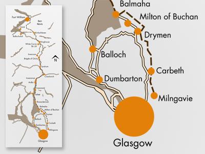 West Highland Way Map